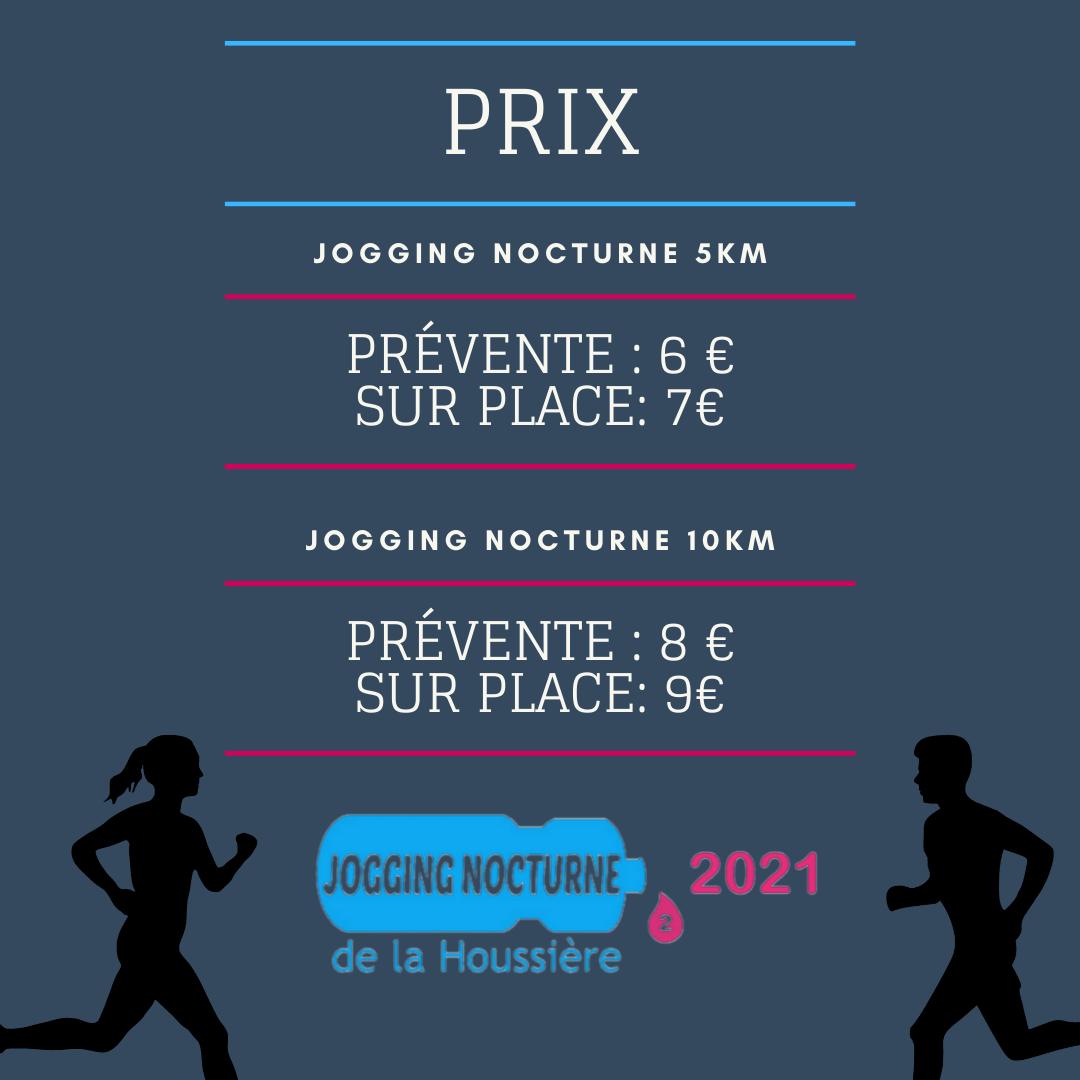 Prix Jogging